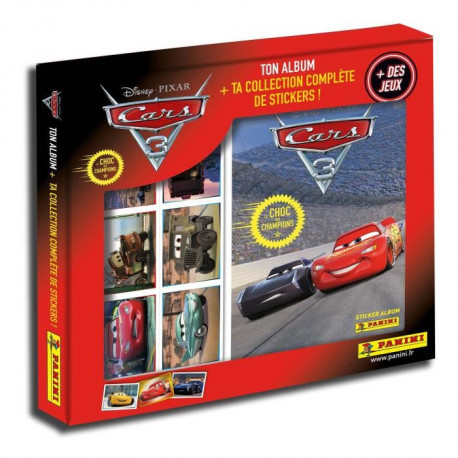 CARS 3 Coffret collection complete