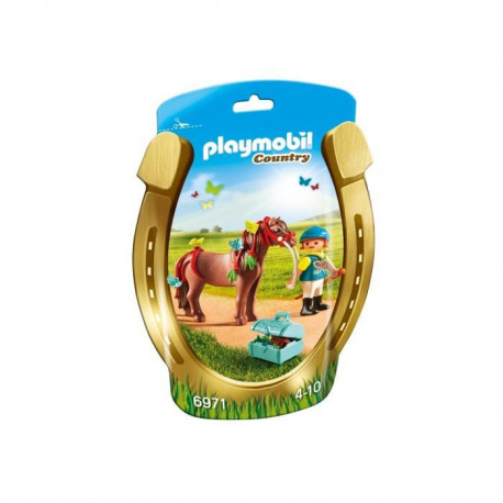 PLAYMOBIL 6971 Poney a Décorer Papillon
