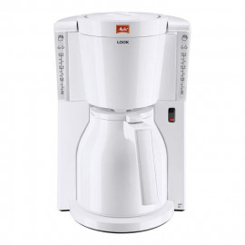 MELITTA 1011-09 Cafetiere filtre avec verseuse isotherme Look IV Therm - Blanc