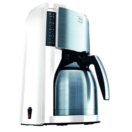 MELITTA M661 Cafetiere filtre avec verseuse isotherme Look Therm Selection - Blanc