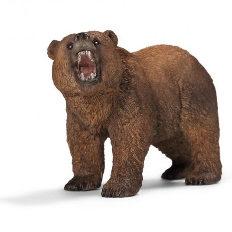 Schleich Figurine 14685 - Animal sauvage - Ours Grizzly