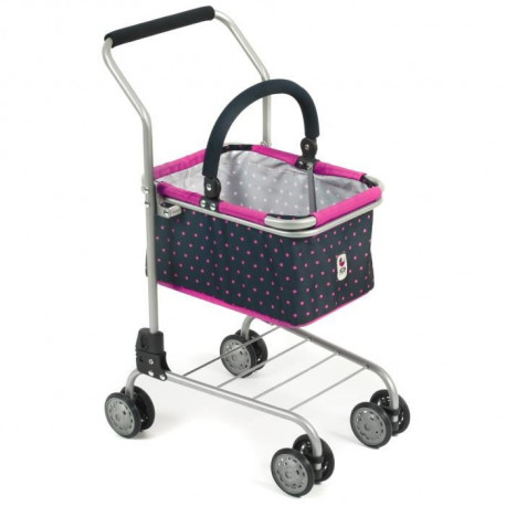 BAYER CHIC Chariot de Supermarché - Panier Amovible