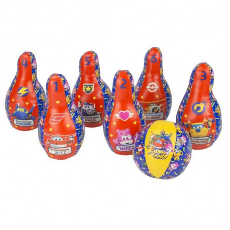 SUPER WINGS Set Bowling