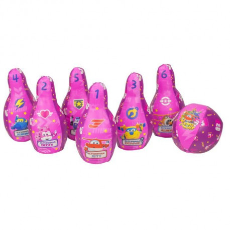 SUPER WINGS Fille Set Bowling
