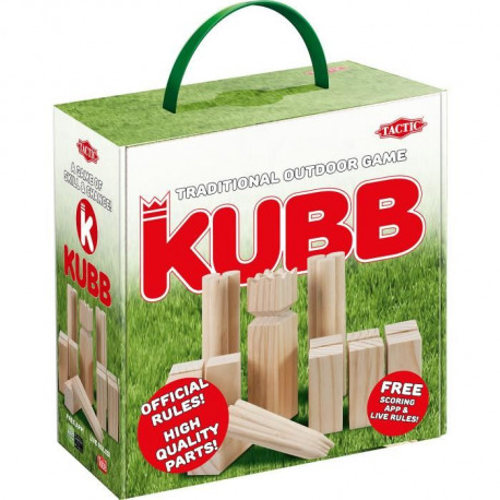 TACTIC Jeu de Plein Air Kubb