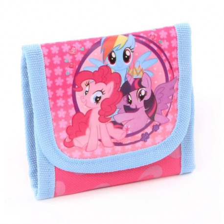 MY LITTLE PONY Porte-monnaie - 10cm - Rose