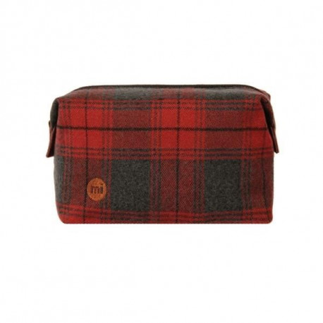 MIPAC Trousse de toilette Red Plaid