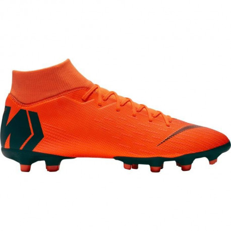 NIKE Chaussures de football Mercurial Superfly 6 Academy Mg - Mixte - Orange