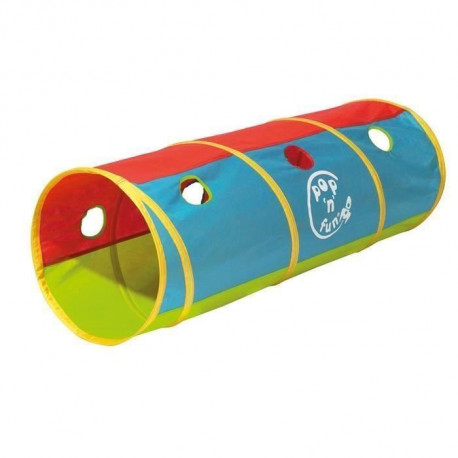 KID ACTIVE Tunnel de jeu pop-up