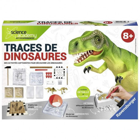 SCIENCE X RAVENSBURGER Midi Traces de Dinosaures Jeu Educatif