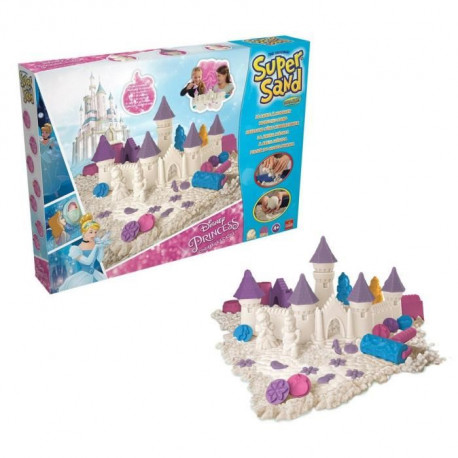 DISNEY PRINCESSES Super Sand - Sable magique avec Moules
