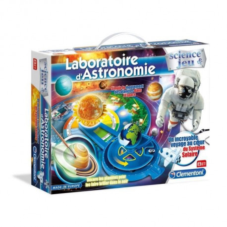 CLEMENTONI - Jeu Scientifique - Laboratoire d'Astronomie