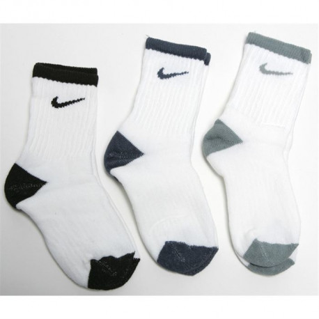 NIKE Lot de 3 Paires de Chaussettes Junior