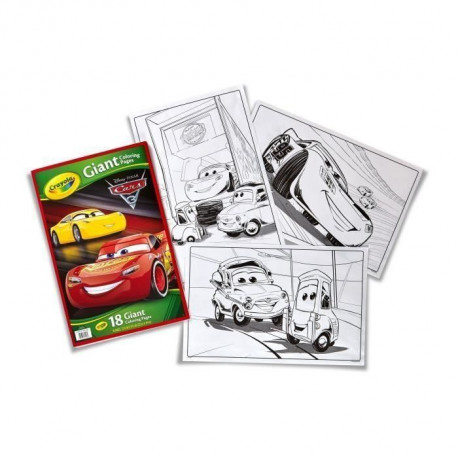 CARS 3 Pages Géantes a Colorier