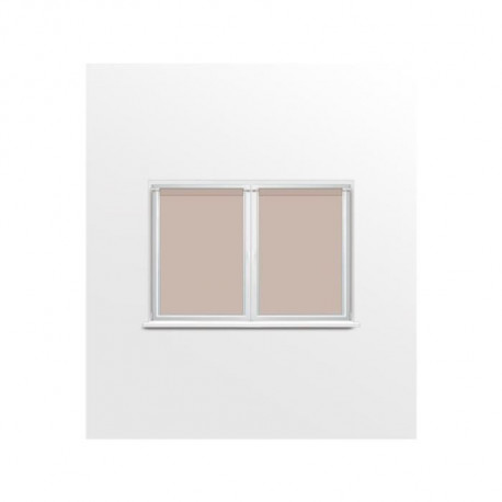 SOLEIL D'OCRE Brise bise DOLLY - 60x90cm - Polyester Beige