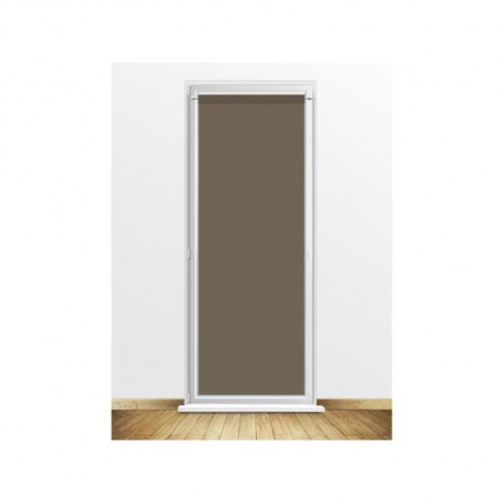 SOLEIL D'OCRE Brise bise DOLLY - 90x200cm - Polyester Taupe