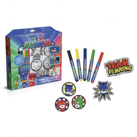 CANAL TOYS - PYJAMASQUE - Patchs a colorier