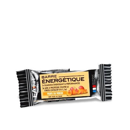 EAFIT Lot de 24 Barres Energétiques - Fruits Vergers - 30 g