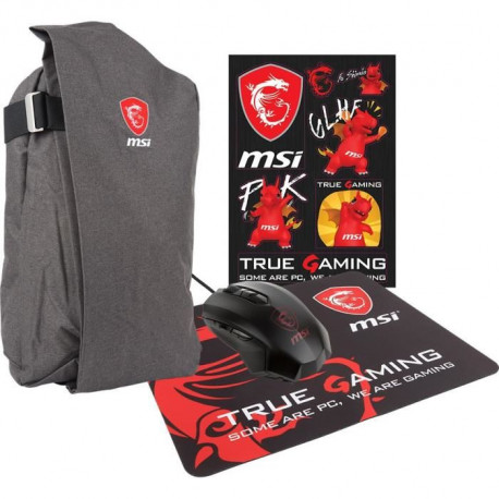 """MSI - Sac PC Portable GE/GS GAMING XMAS PACK 2017 - Compatible PC entre 15 et 18"""""""