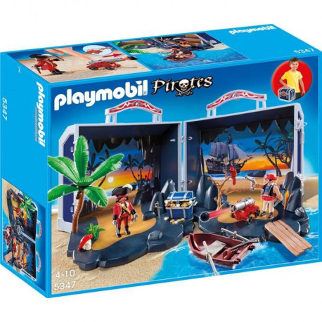 PLAYMOBIL 5347 Ile  au Trésor Transportable