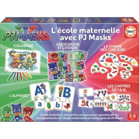 PYJAMASQUES Kit Maternelle