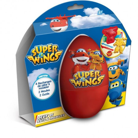 SUPER WINGS oeuf de Pâte a Modeler