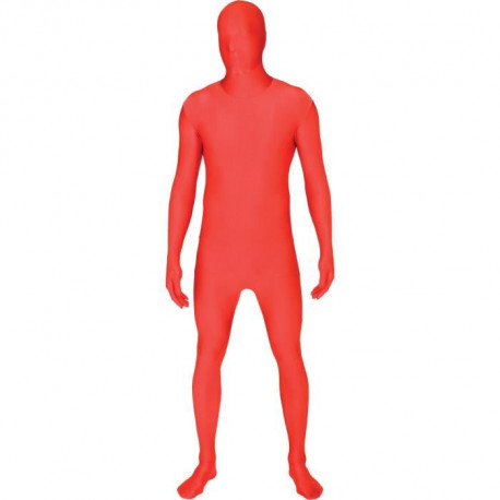 AMSCAN Costume Adulte Partysuit Rouge