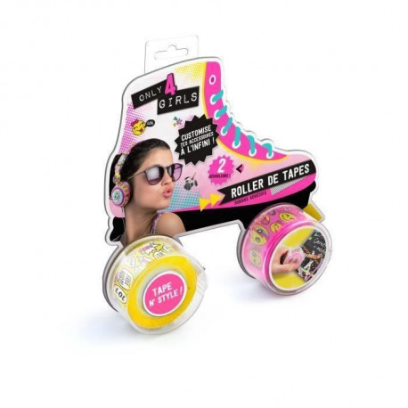 ONLY FOR GIRLS Roller tape