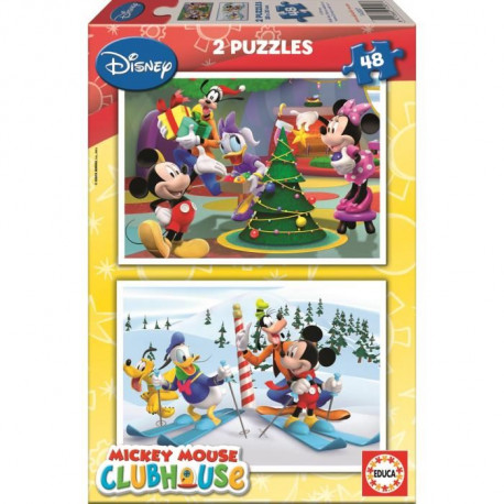 EDUCA Baby Puzzles Grands Animaux