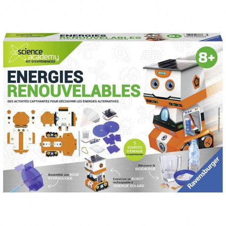 SCIENCE X RAVENSBURGER Midi Energies Renouvelables Jeu Educatif