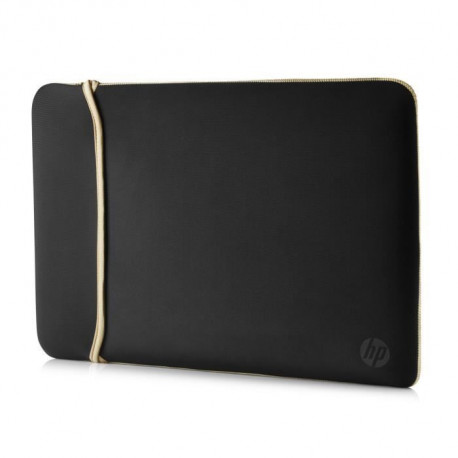 HP 15.6? Reversible Sleeve ? Black/Gold