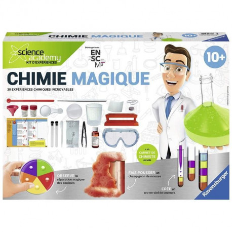 SCIENCE X RAVENSBURGER Maxi Chimie Magique Jeu Educatif