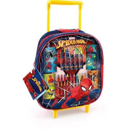 CANAL TOYS - SPIDERMAN - Trolley de Coloriage - Loisirs Créatifs