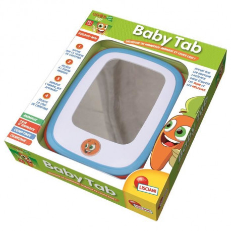 LISCIANI Carotina Baby Tab - Jeu Educatif Electronique