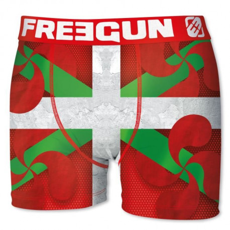 FREEGUN Boxer Homme Drapeau Basque
