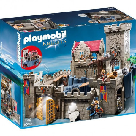 PLAYMOBIL 6000 - Knights - Château Lion Impérial