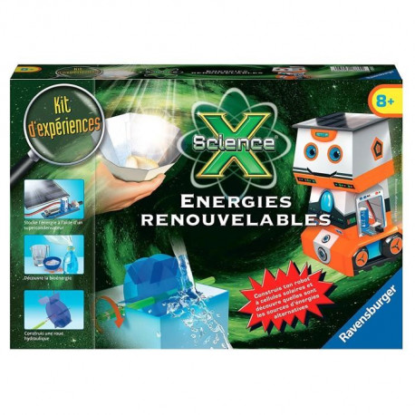 SCIENCE X RAVENSBURGER Energies renouvables Jeu Educatif