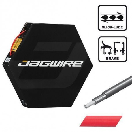 JAGWIRE Gaine de freinage Cgx-Sl Slick-Lube - 5 mm - 50 M - Rouge