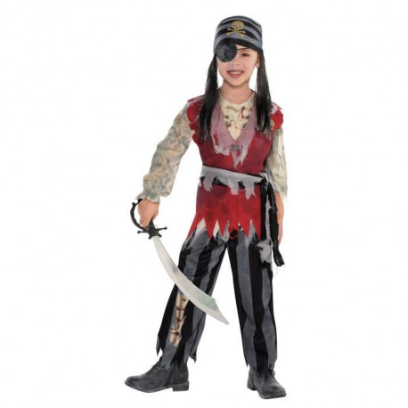 AMSCAN Cuththroat Corpse Pirate