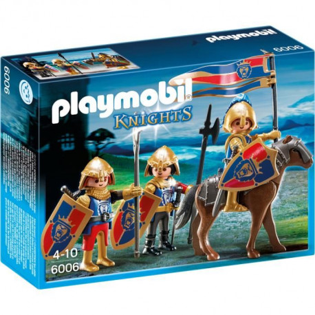PLAYMOBIL 6006 - Knights - Chevaliers du Lion Impérial