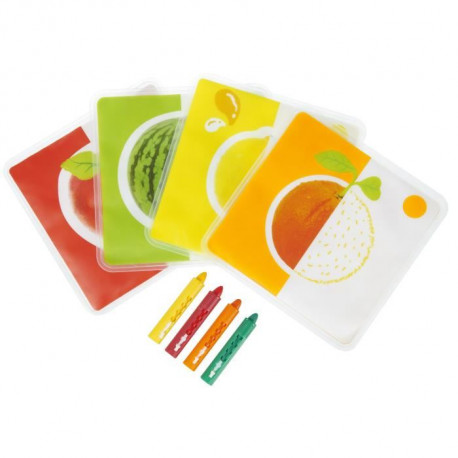 TIGEX Cartes de Bain a Colorier