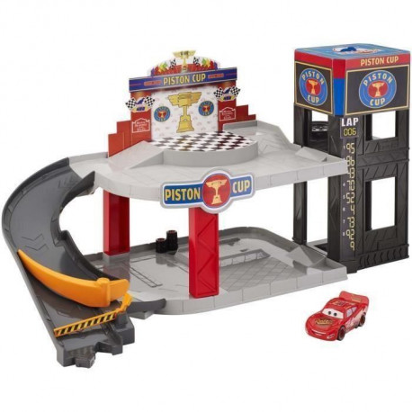 CARS - Garage Piston Cup