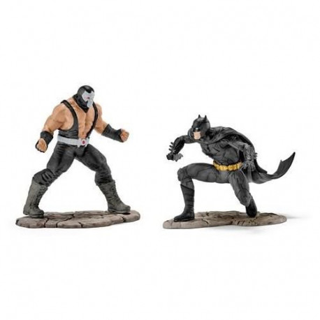 Schleich Figurine 22540 - Justice League - BATMAN? vs BANE?