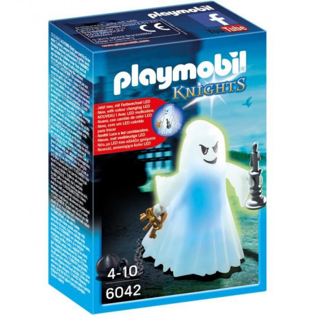 PLAYMOBIL 6042 - Knights - Fantôme avec Led Multicolore
