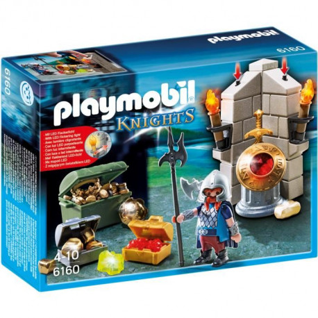 PLAYMOBIL 6160  Gardien du Trésor Royal
