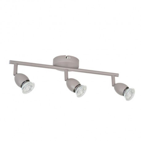 MELY Spot 3 lumieres LED L40,5 x H13 cm Taupe