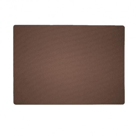Set de table textile 43x30 cm Marron