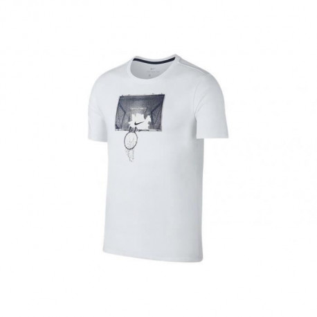 NIKE T-shirt Shattered - Homme - Blanc