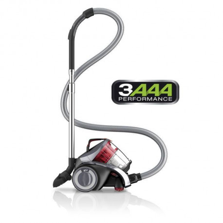 DIRT DEVIL Aspirateur traîneau sans sac Rebel 54 HFC - 800W - 78 dB - A - Gris