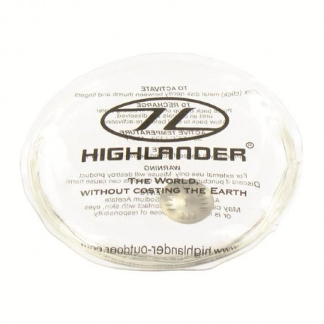 HIGHLANDER Chauffe Mains Rechargeable